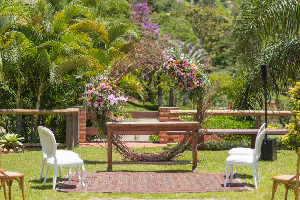Casamento Nathalia e Diogo - Local da cerimônia - Marina Fava Fotografia
