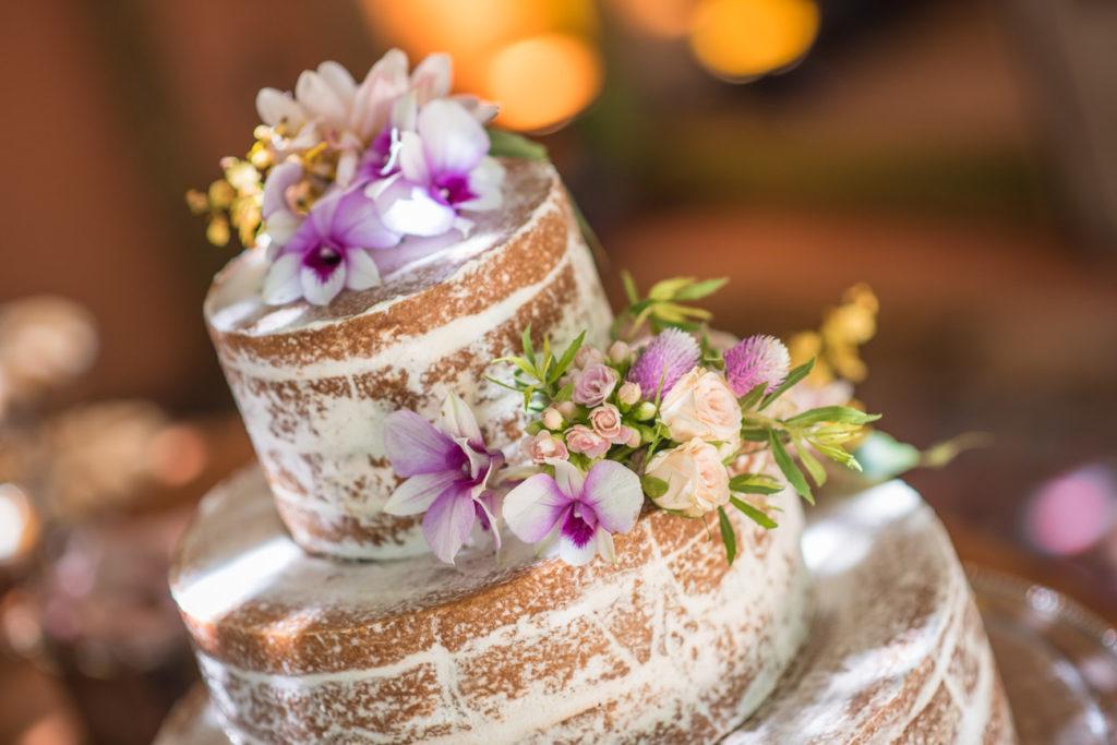 Casamento Nathalia e Diogo - Detalhe do bolo - Marina Fava Fotografia