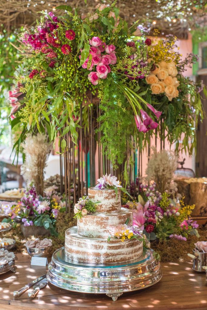Casamento Nathalia e Diogo - Mesa do bolo - Marina Fava Fotografia