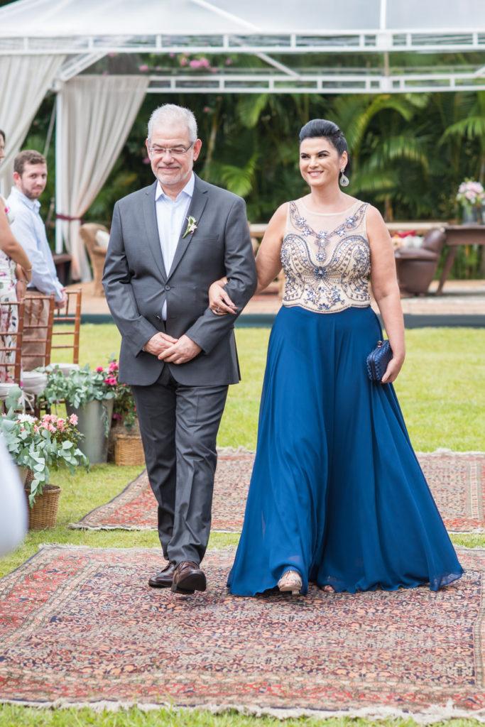 Casamento Nathalia e Diogo - Família na cerimônia - Marina Fava Fotografia