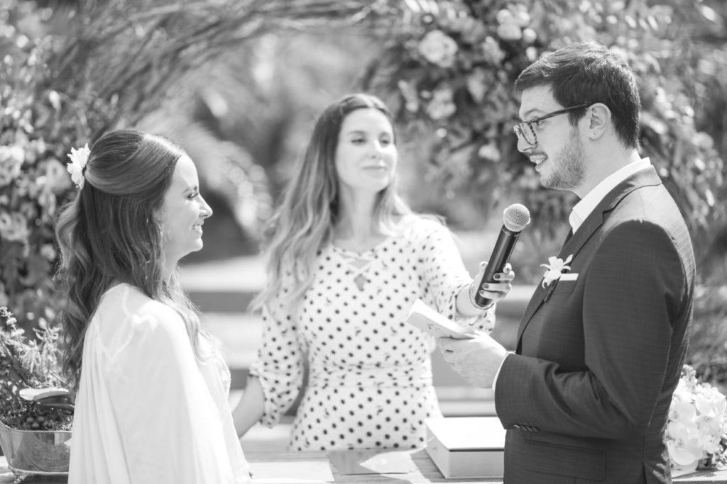 Casamento Nathalia e Diogo - Votos do noivo - Marina Fava Fotografia