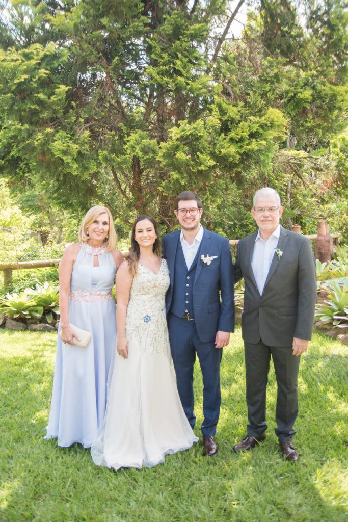 Casamento Nathalia e Diogo - Noivos e família - Marina Fava Fotografia
