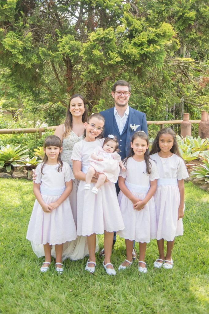 Casamento Nathalia e Diogo - Noivos e daminhas - Marina Fava Fotografia