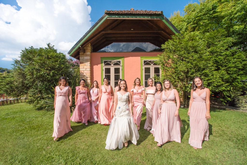 Casamento Nathalia e Diogo - Noivas e madrinhas - Marina Fava Fotografia